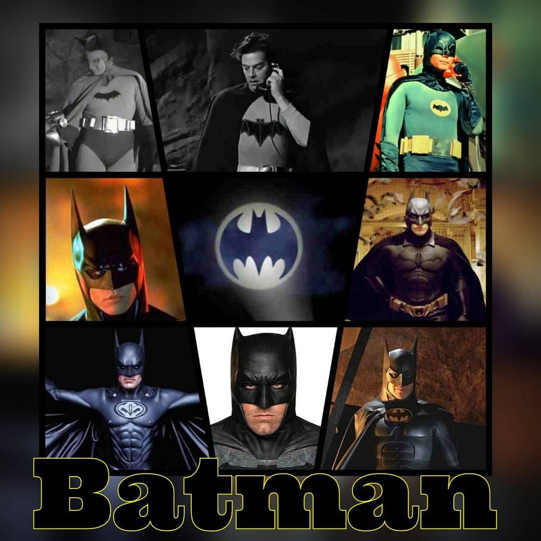 #Batman This Covers All Actors To Be Cast As Batman. (With