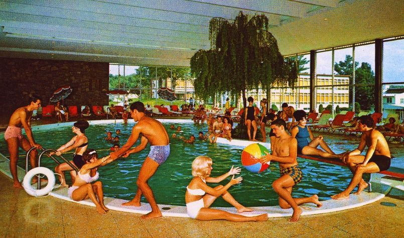 Laurels Hotel And Country Club Monticello New York 1969 Edge And Corner Wear Catskill Resorts Catskills Catskill Hotel