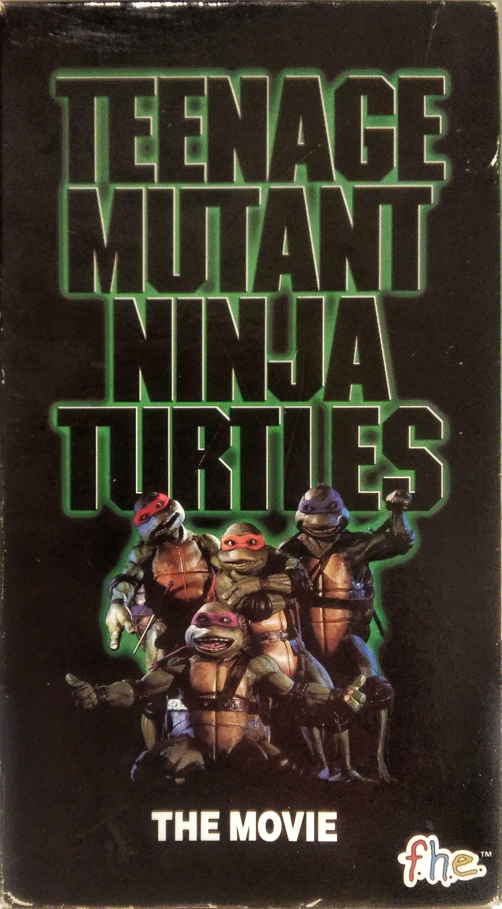 Teenage Mutant Ninja Turtles The Movie Vhs 10 4 90 Ninja Turtles Movie Teenage Mutant Ninja Turtles Movie Tmnt Movie