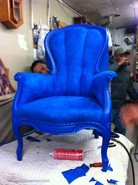 Cobalt blue chair via @Morgan Pederson DESIGN my heart out & Cobalt blue chair via @Morgan Pederson DESIGN my heart out | Home ...