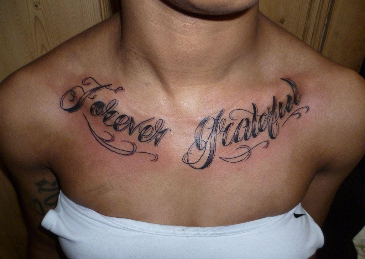 Script Font Chest Tattoo Pin Tattoo Ideas Script Fonts
