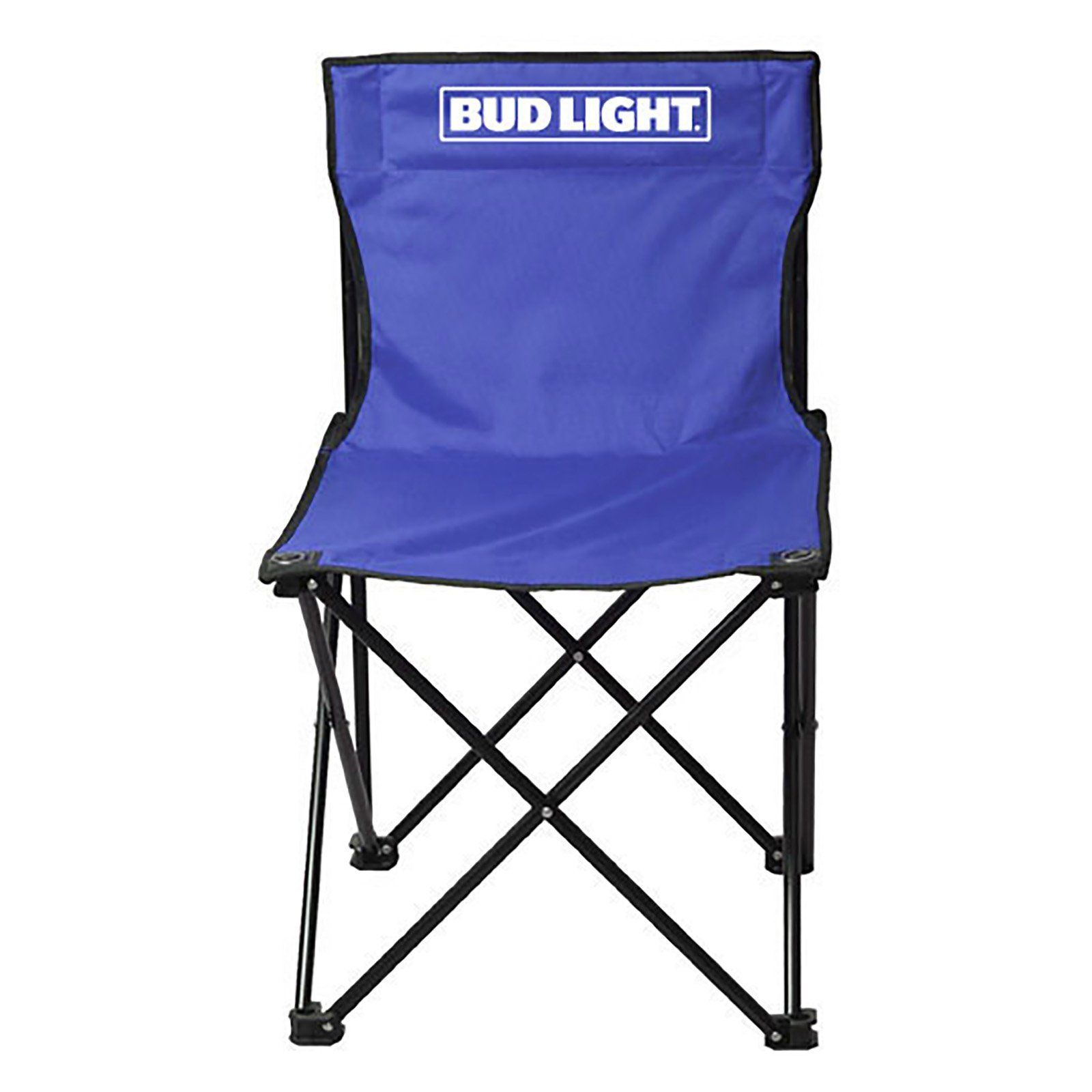 Outdoor Bud Light Armless Folding Lawn Chair   TG 7865BL