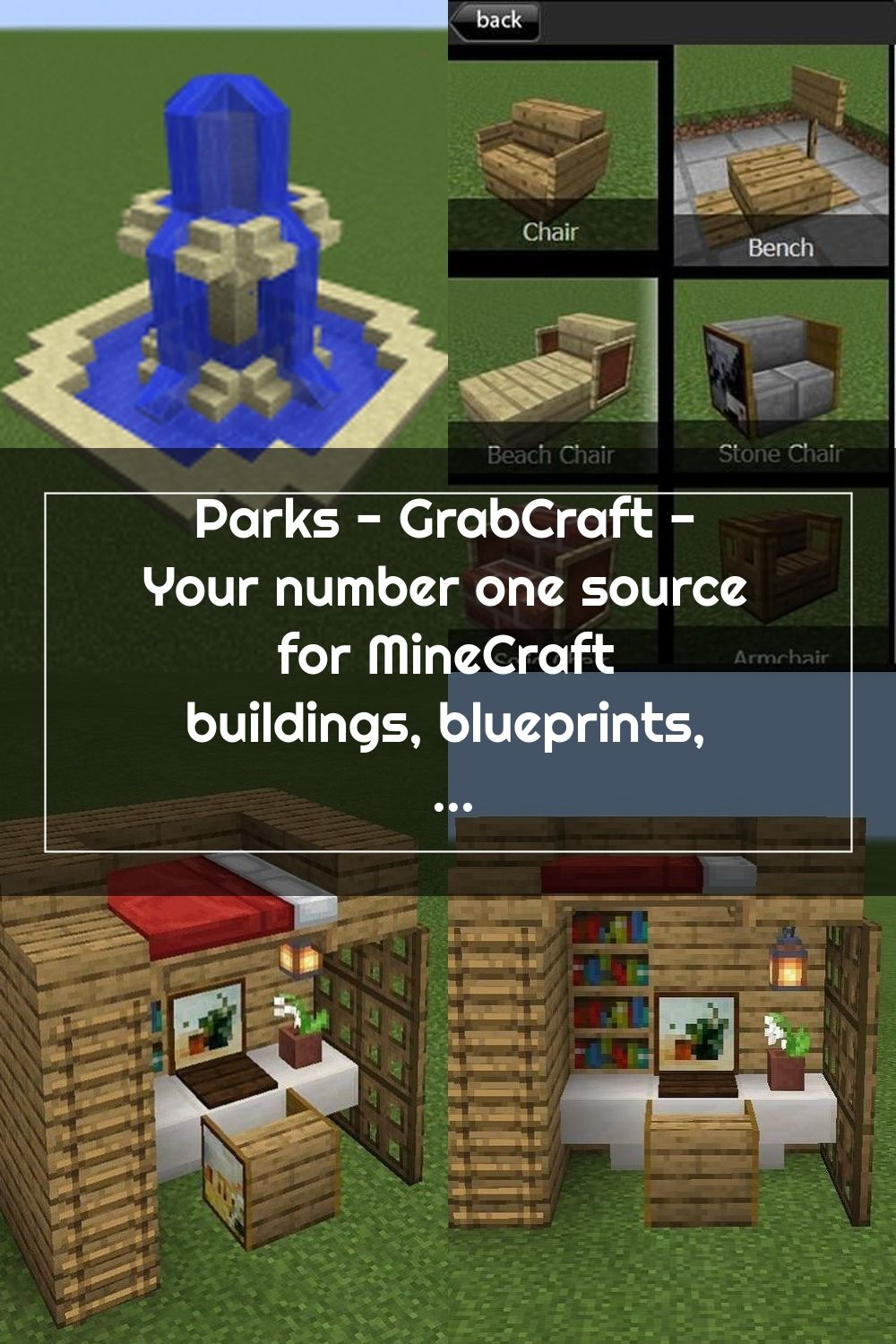 Parks Grabcraft Your Number One Source For Minecraft Buildings Bluepri In 2020 Minecraft Minecraft Buildings Building