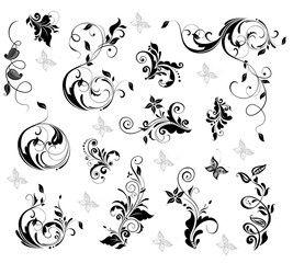 Vector: Elegant floral design