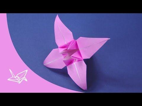 origami blume faltanleitung youtube origami pinterest origami blume origami und youtube. Black Bedroom Furniture Sets. Home Design Ideas