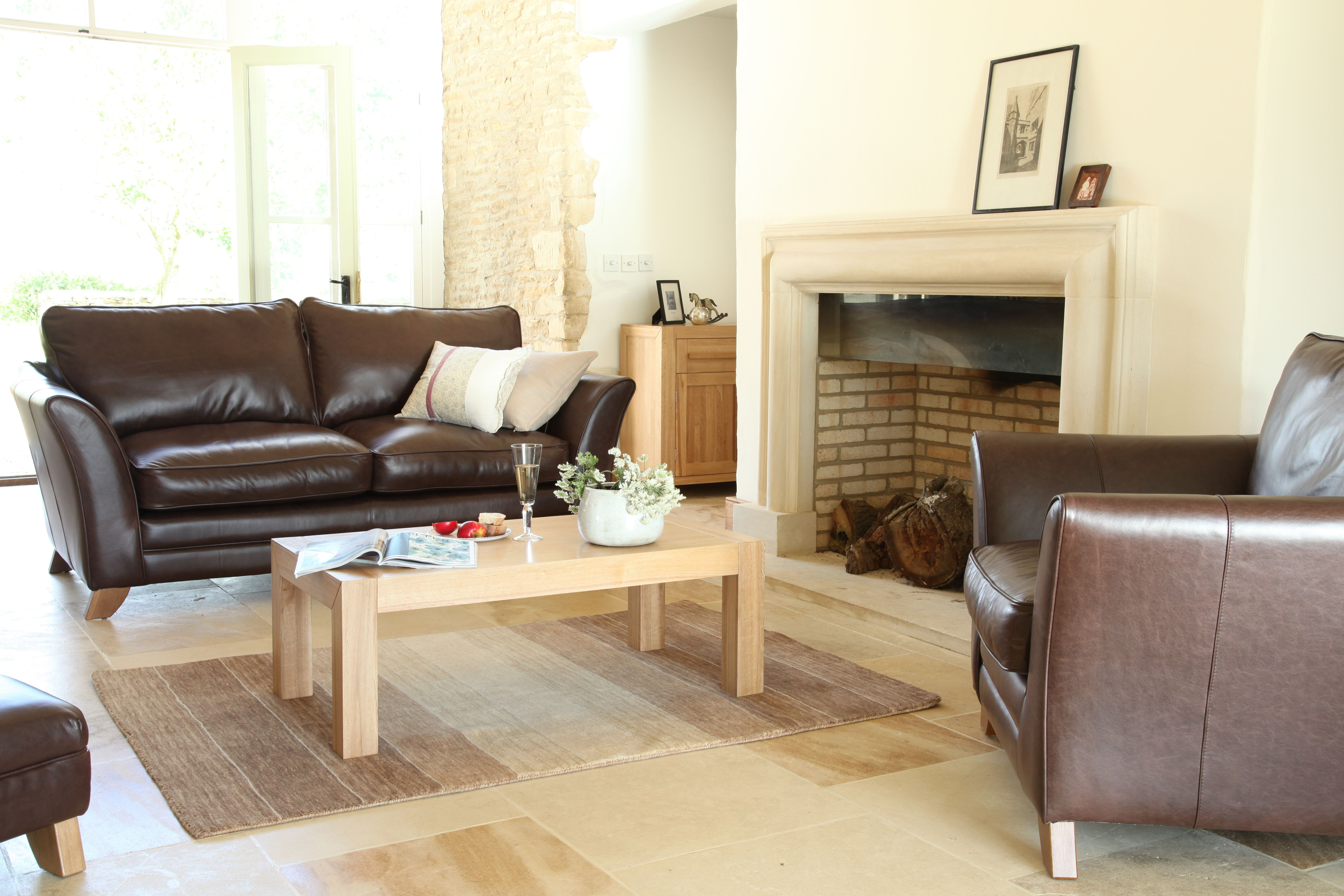 Quercus Solid Oak Furniture Range Living Room Furniture Collection ...