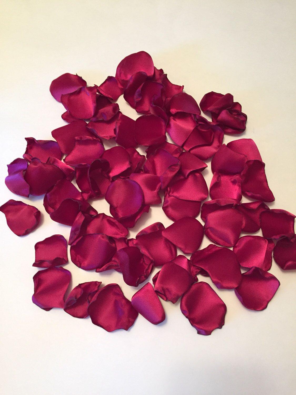 Wedding decoration ideas burgundy  Wine Rose PetalsSatin Rose PetalsBurgundy Rose PetalsBridal