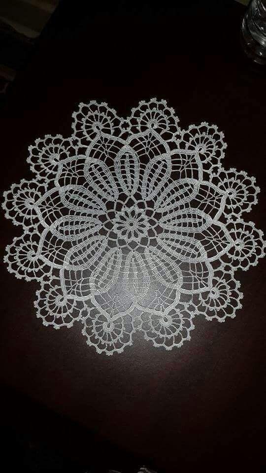 Dantel Dantel Dantel Filet Crochet Ve Tig Isi Cicekler