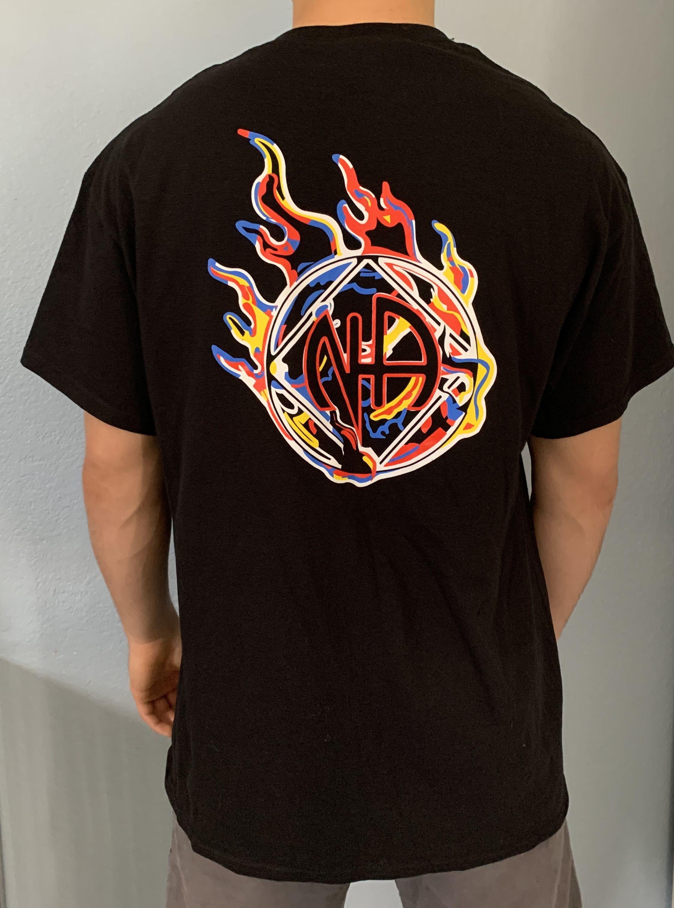 Na Flame T Shirt Shirts T Shirt Mens Tops