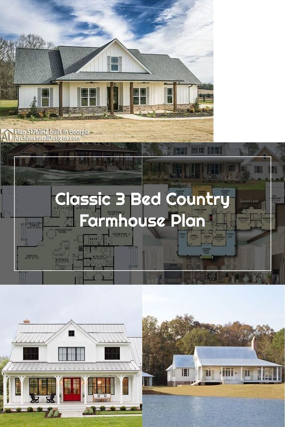 Pin Op Country House Plans