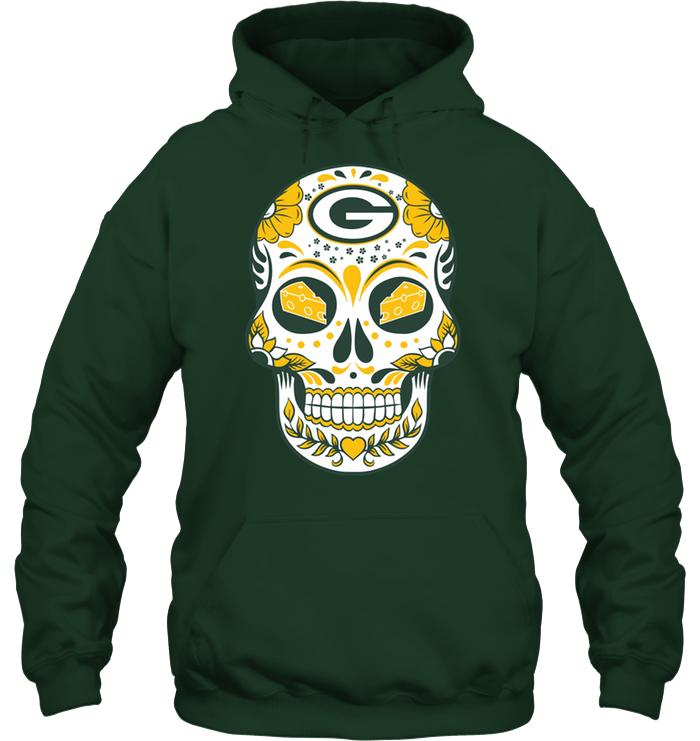 Green Bay Packers Sugar Skull  c895d3564