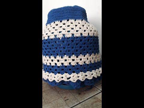 Sombrinha de crochê - PAP - YouTube