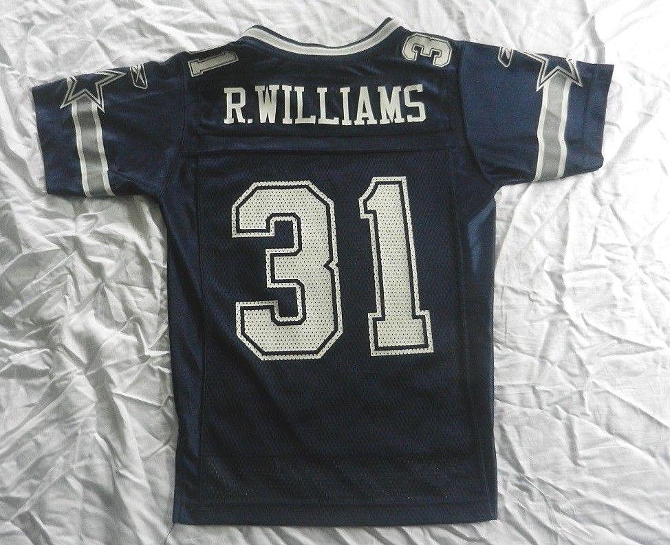 79b0a7bdb ReeBok Jersey Official NFL Vintage Dallas Cowboys Roy Williams 31 Youth SIze  EUC  Reebok  DallasCowboys