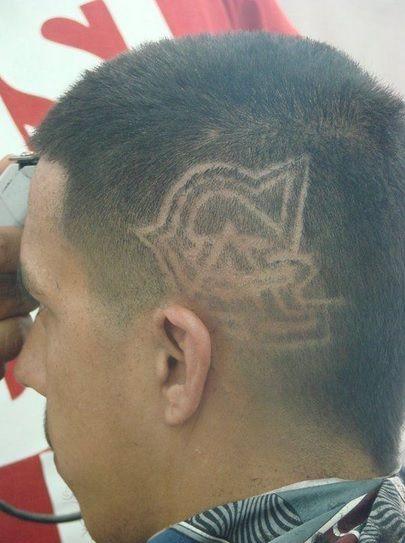 letter haircut design #letterhaircutdesign