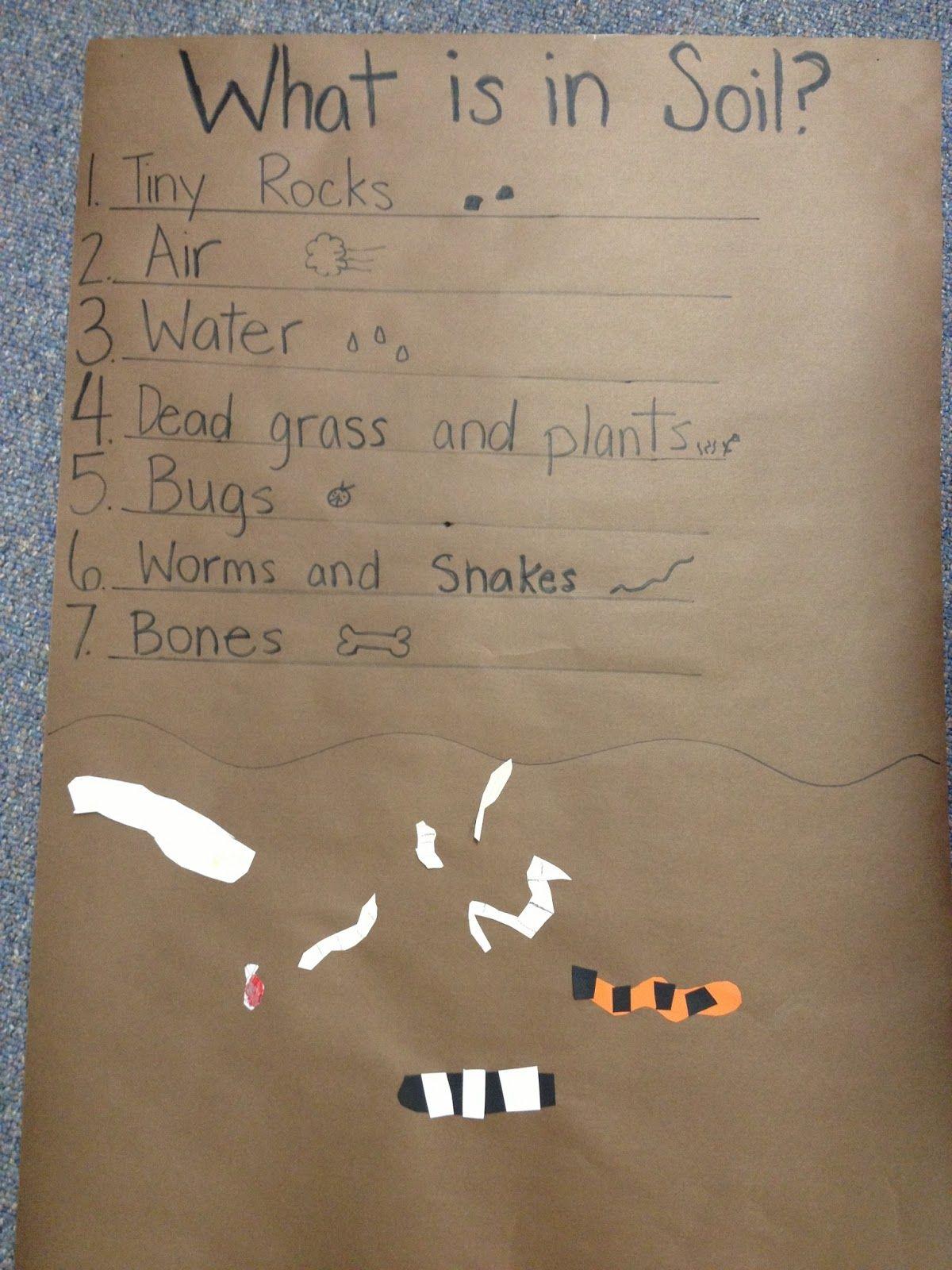 Rocks And Soil Kindergarten