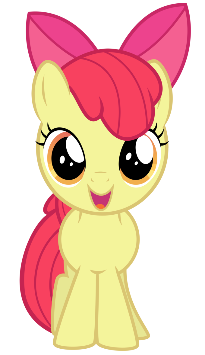 Excited Apple Bloom By Thatguy1945 Deviantart Com On Deviantart My Little Pony Stickers My Little Pony Drawing My Little Pony Wallpaper