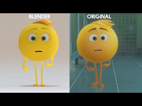 Emoji Movie 'Mel Meh' - Blender 2 79 PBR Principled Shader