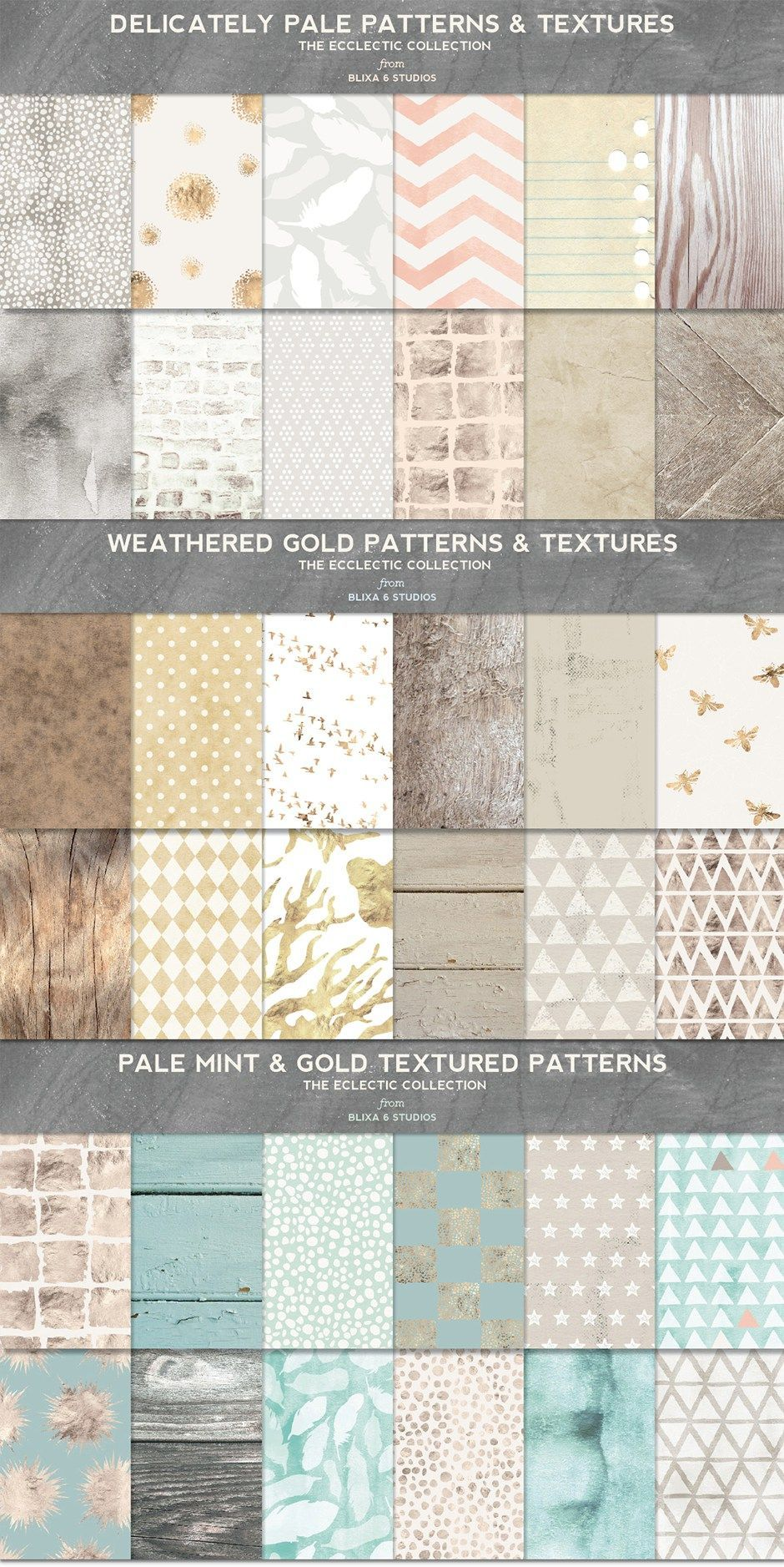 Eclectic Textures Rich Hand Made Watercolor Digital Patterns Digital Pattern Pattern Texture