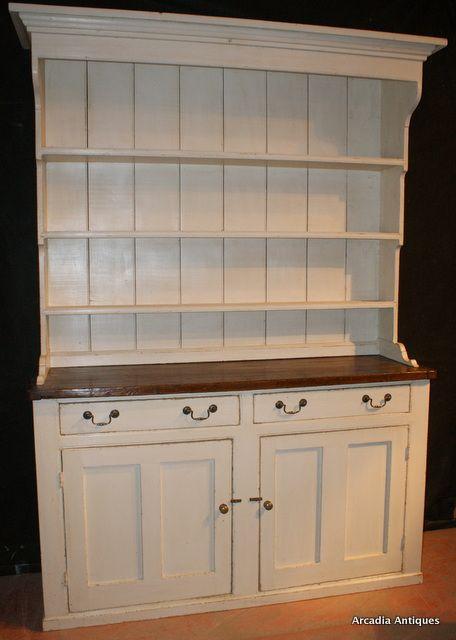 Antique Dressers Uk Dresser Base Oak Painted Pine French