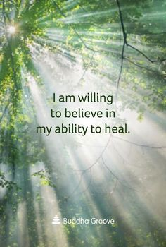 Affirmation for Healing