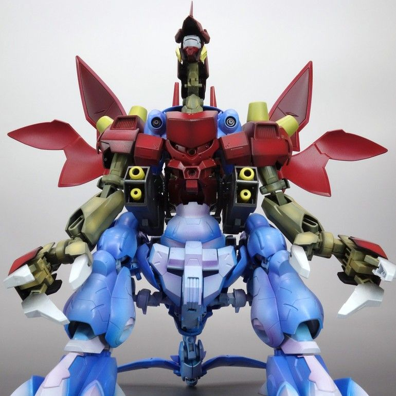 GUNDAM GUY: 1/144 Gundam Gusion Combiner [Extreme Devil Grader] - Custom Build