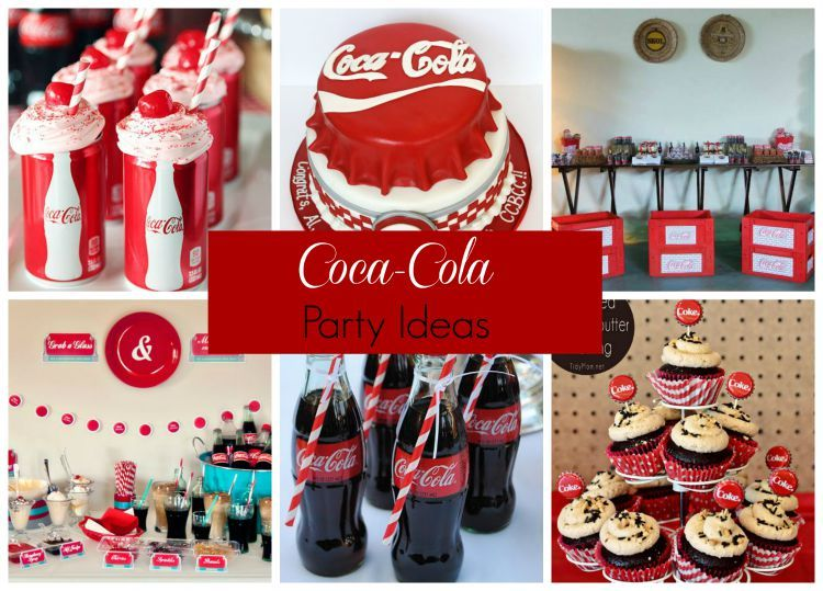 Coca Cola Themed Party Decorations  from i.pinimg.com