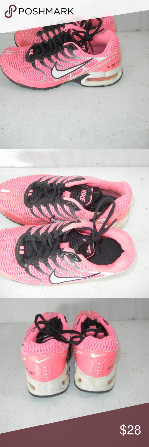 NIKE AIR US SZ 6 Pink Torch 4 Running Sneaker Clothes