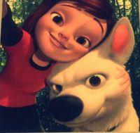 Bolt penny selfie