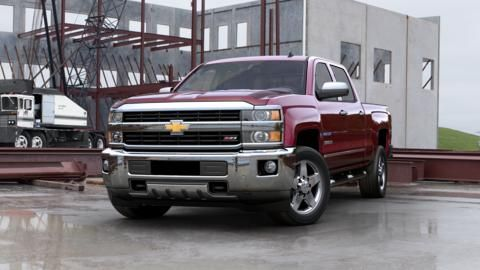 Build Your Own Truck 2015 Chevy Silverado 2500hd Chevrolet