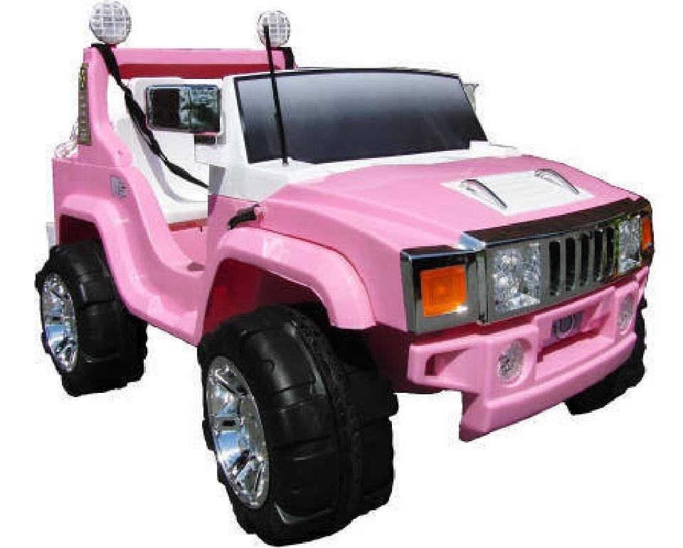 Hummer Style 12v Rc Rosa Pink 2 Plazas Lia26rc Coche Para