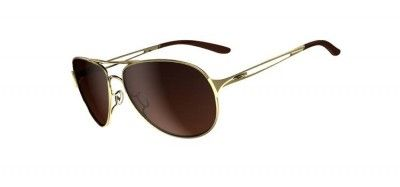 Óculos Oakley Women s Caveat Polished Gold Dark Brown Gradient  Óculos   Oakley db16594d7e