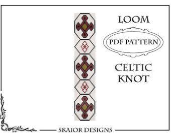 Loom Beading Pattern Celtic Knot Bracelet Seed Bead