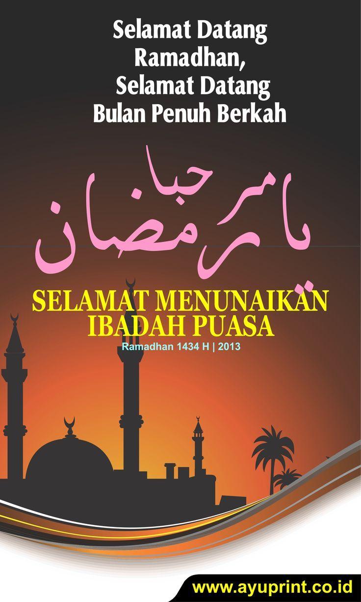 wallpaper ramadhan 2018 | Spanduk, Desain, Desain banner