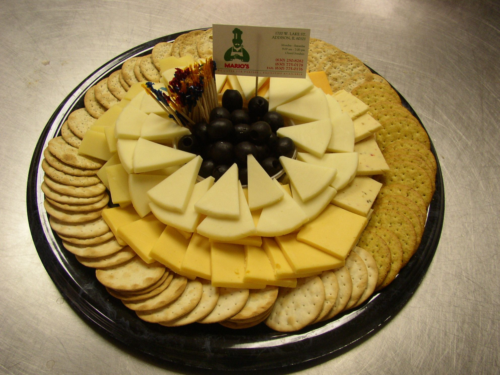 Buffet Libre Vigo Cracker And Cheese Platter Cheese Trays Choice Of Cheeses