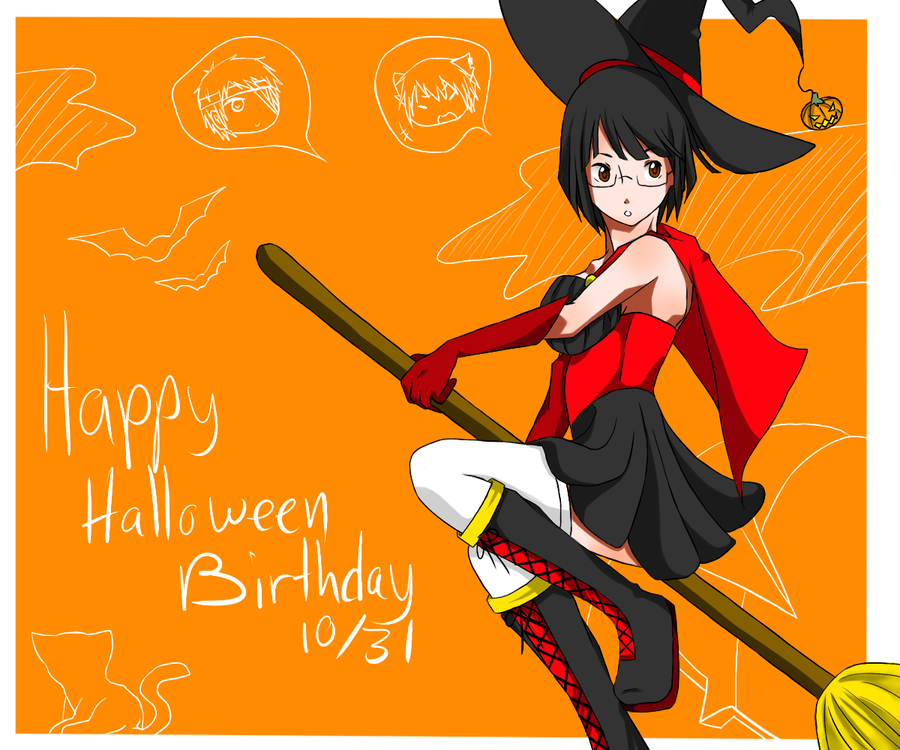 Happy Birthday Halloween Witch Pictures Happy birthday