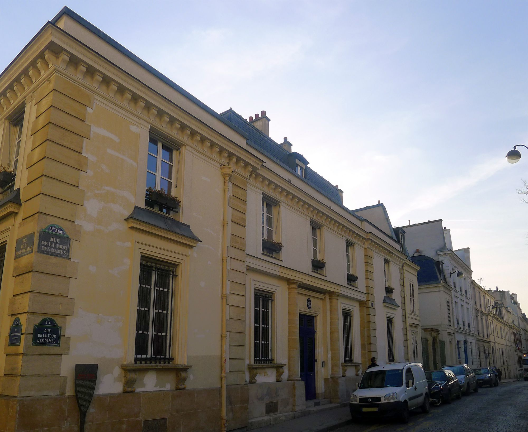 h tel de mademoiselle mars 1820 1824 1 rue de la tour