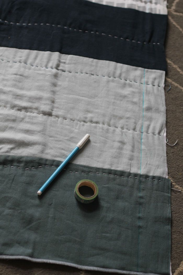 Quilting Tips For A Simple Double Gauze Quilt Double