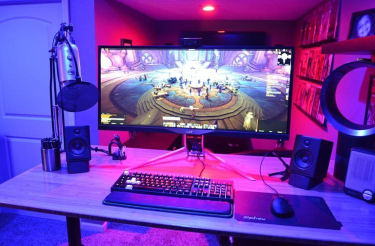 Click To Find Out More Gaming Room Ideas Gaming Room Ideas Pinterest Gaming Room Ideas Pc Gaming Room Ideas 2017 Gaming Room Setup Game Room Computer Setup