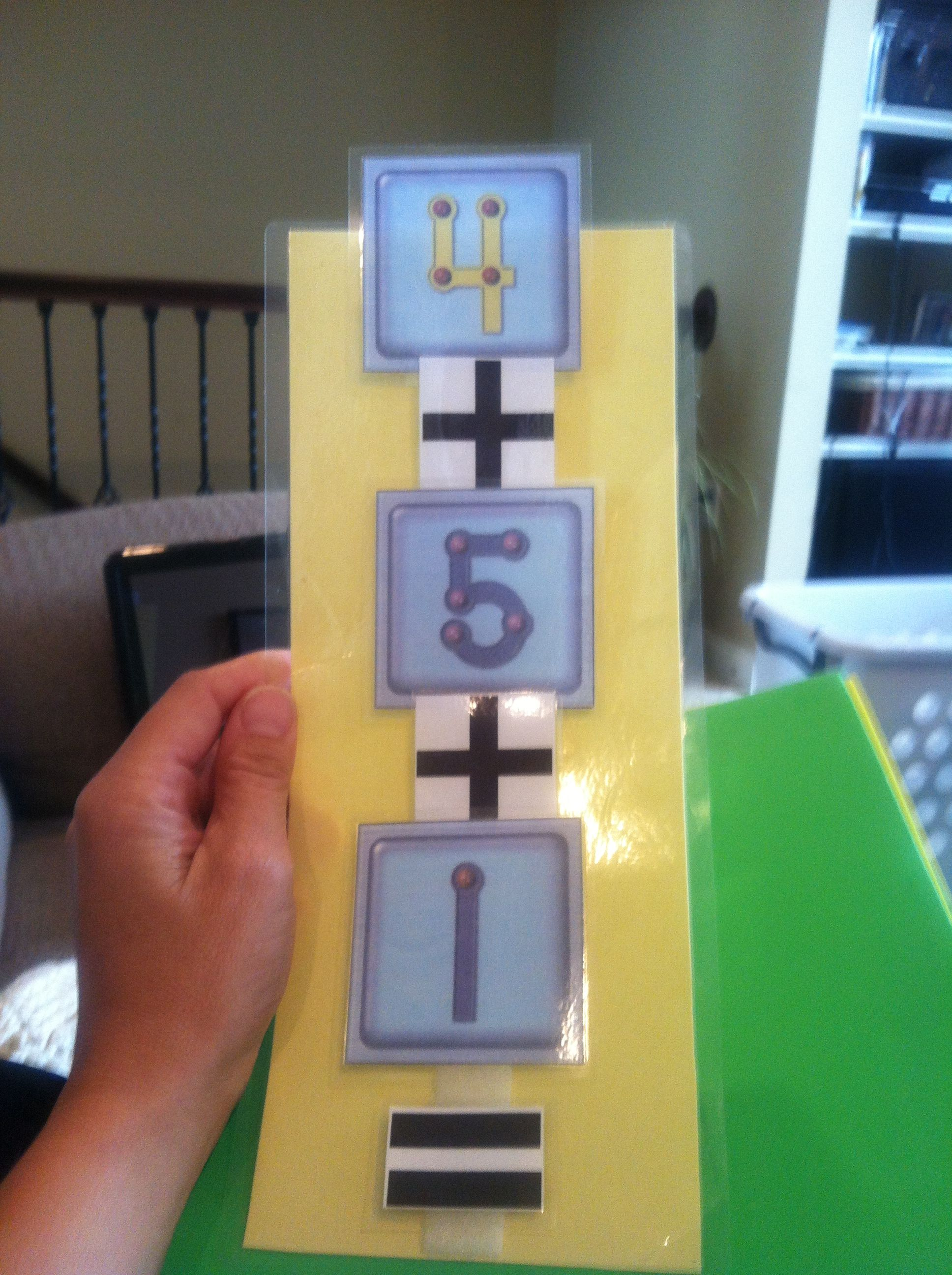Create Your Own Interactive Addition Strips With