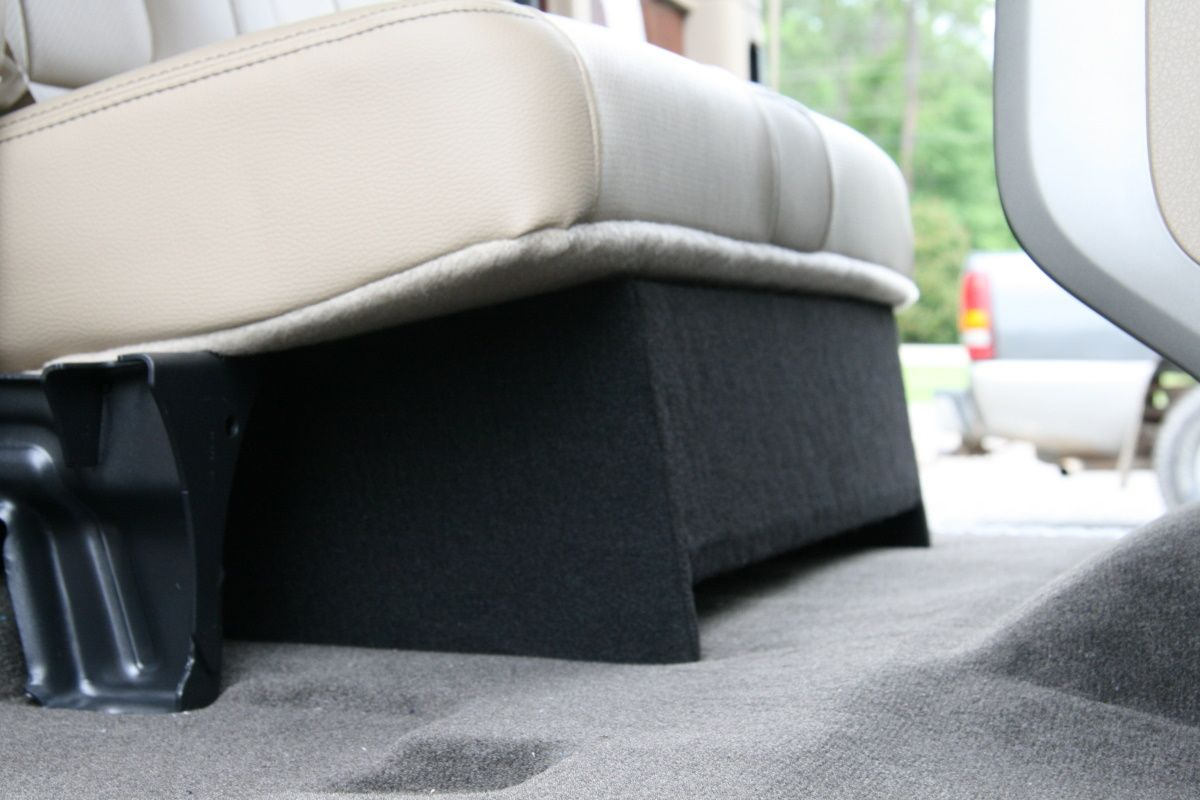 2009 to 2013 ford f150 extended cab truck single sub box