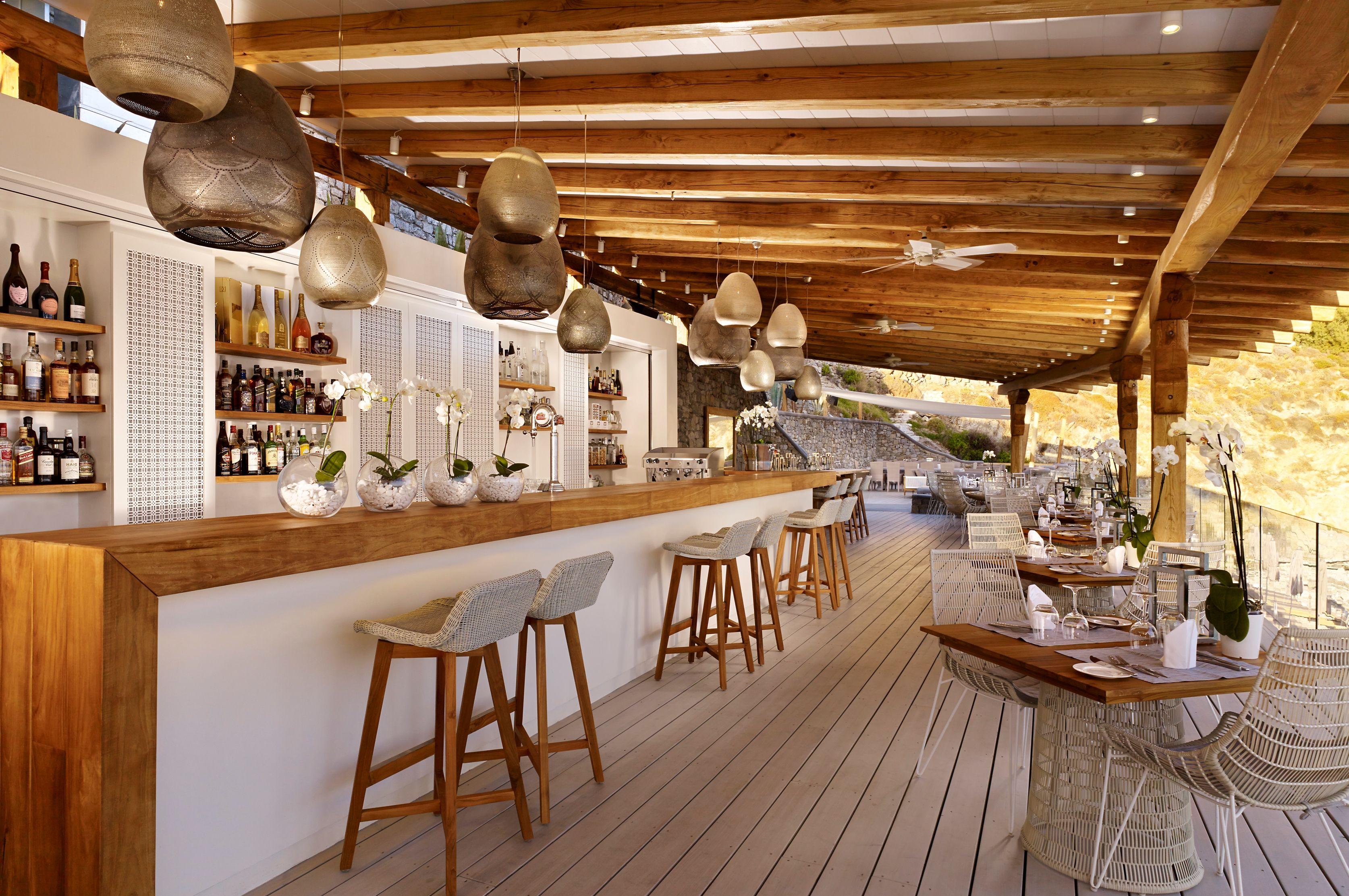 Beaches Bar Designs for Restaurants