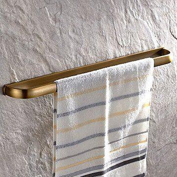 leyden retro bathroom accessories solid brass antique brass finished towel bar home decor towel holder towel