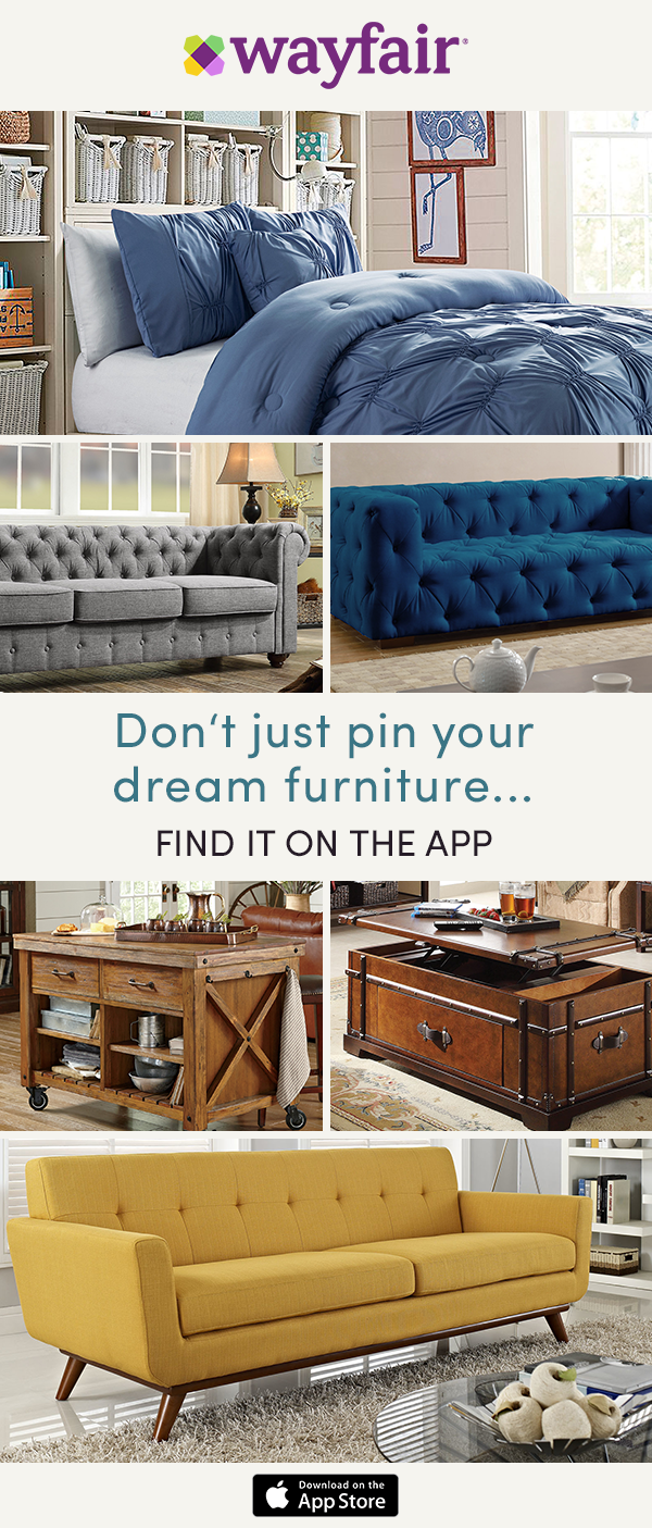Download The Wayfair App To Confidently Shop On The Go Our Exclusive View In Room Feature Allows You To See Styles Dire Home Wayfair Furniture Apartment Decor