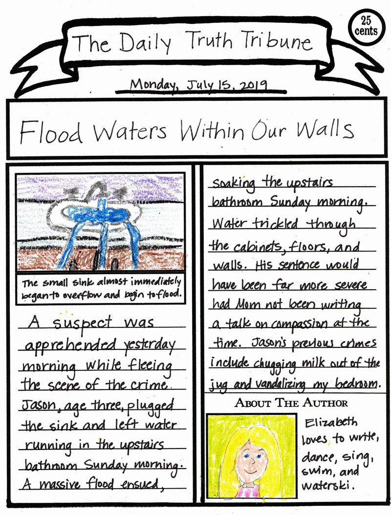 Newspaper Article Template Newspaper Article Template Article Template News Articles For Kids