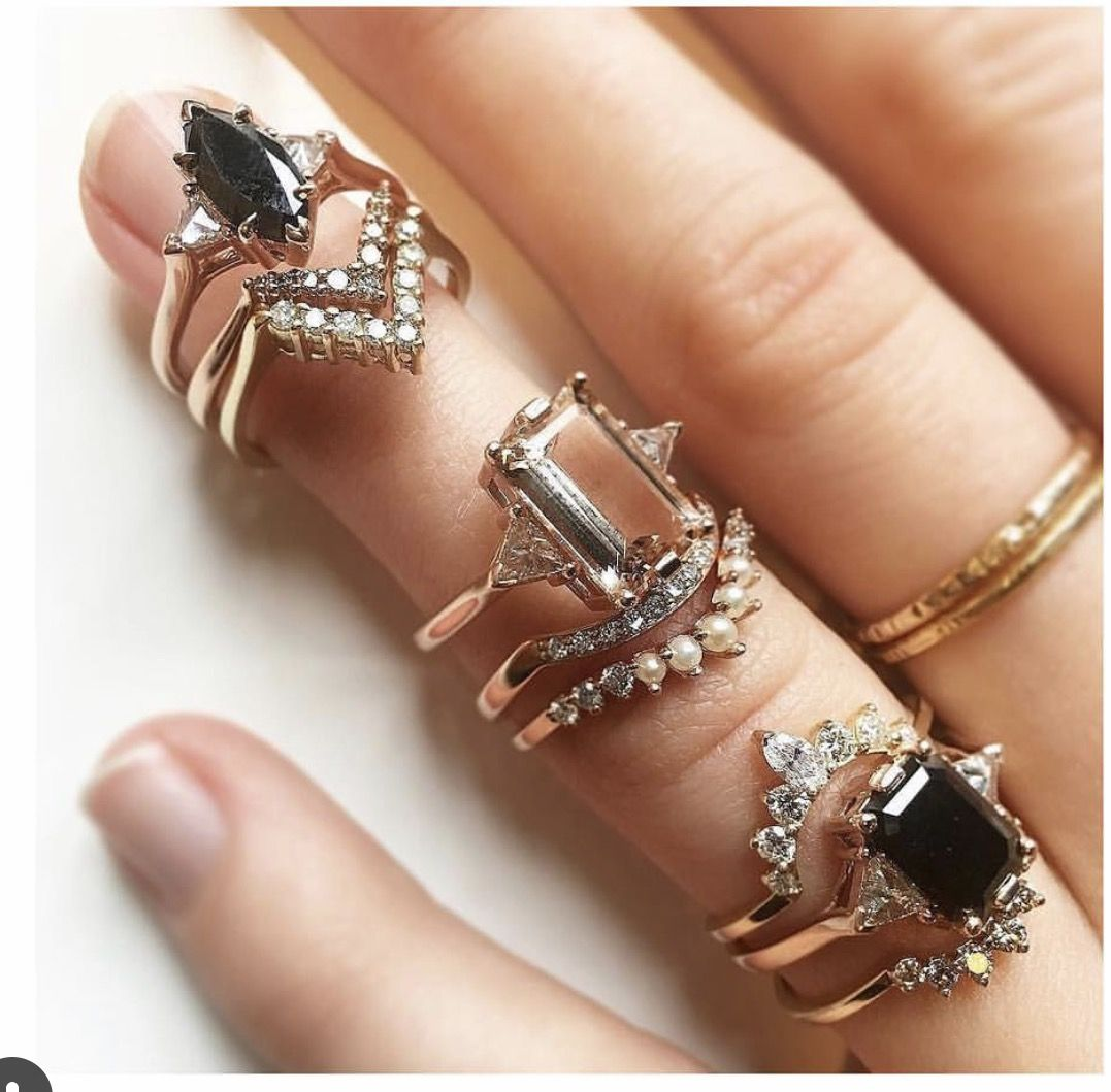 Pin by Muse With Maddie on I D O Black diamond ring