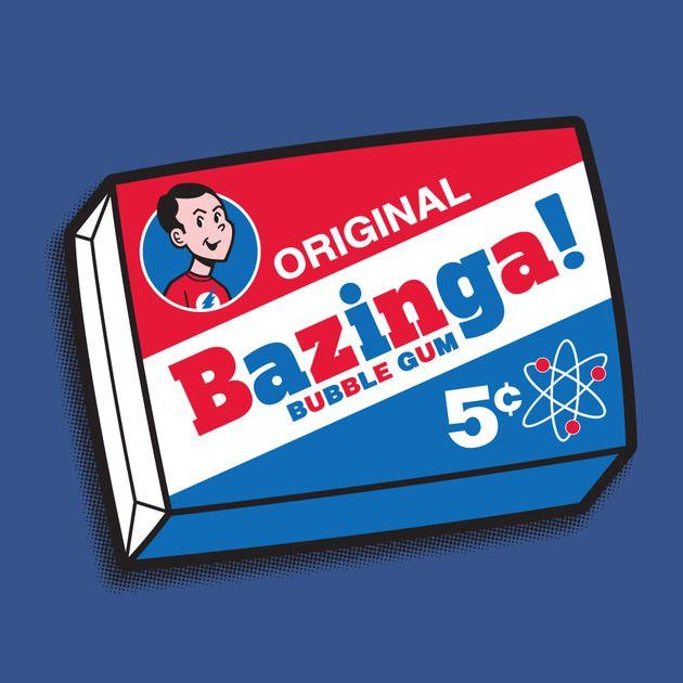 Bazinga Sheldon Bubblegum
