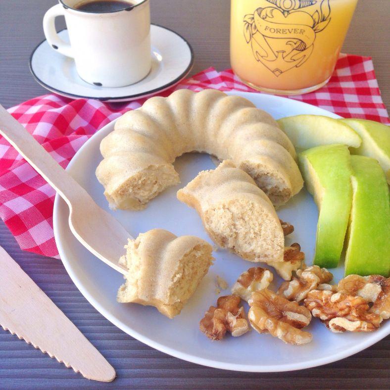 Receta: bizcocho de vainilla y manzana | Tan Sanamente