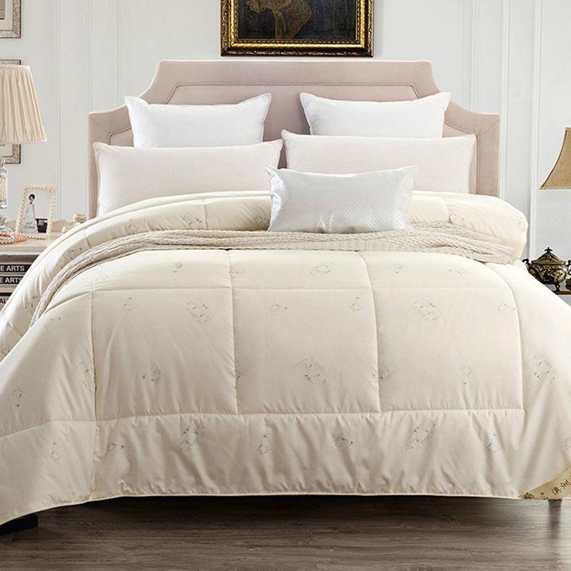 Cream white SummerAutumn Duvet Comforter Quilt 3kg4kg5kg Premium