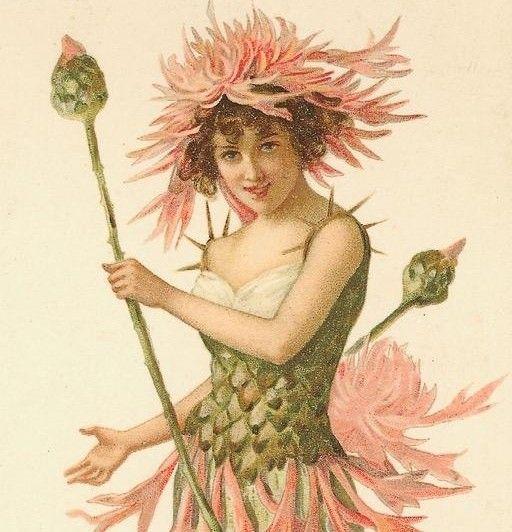 All Things Pink Vintage EphemeraVintage PostcardsClip Art