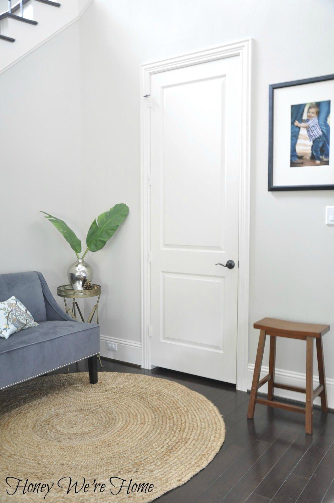 Honey Weu0027re Home: Black/Gray Painted Interior Doors
